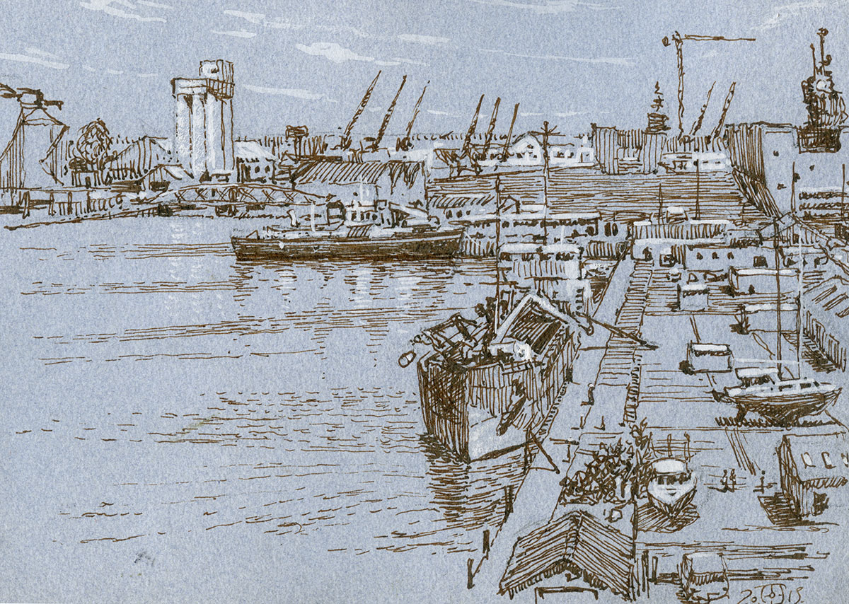 Port Drawing at GetDrawings.com | Free for personal use Port Drawing ...