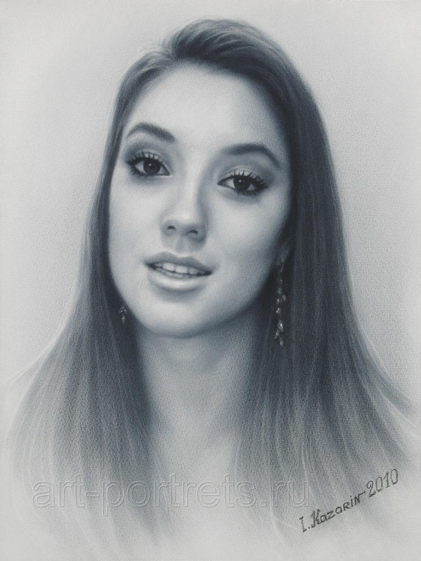 825x1100 Blair Portrait Drawing