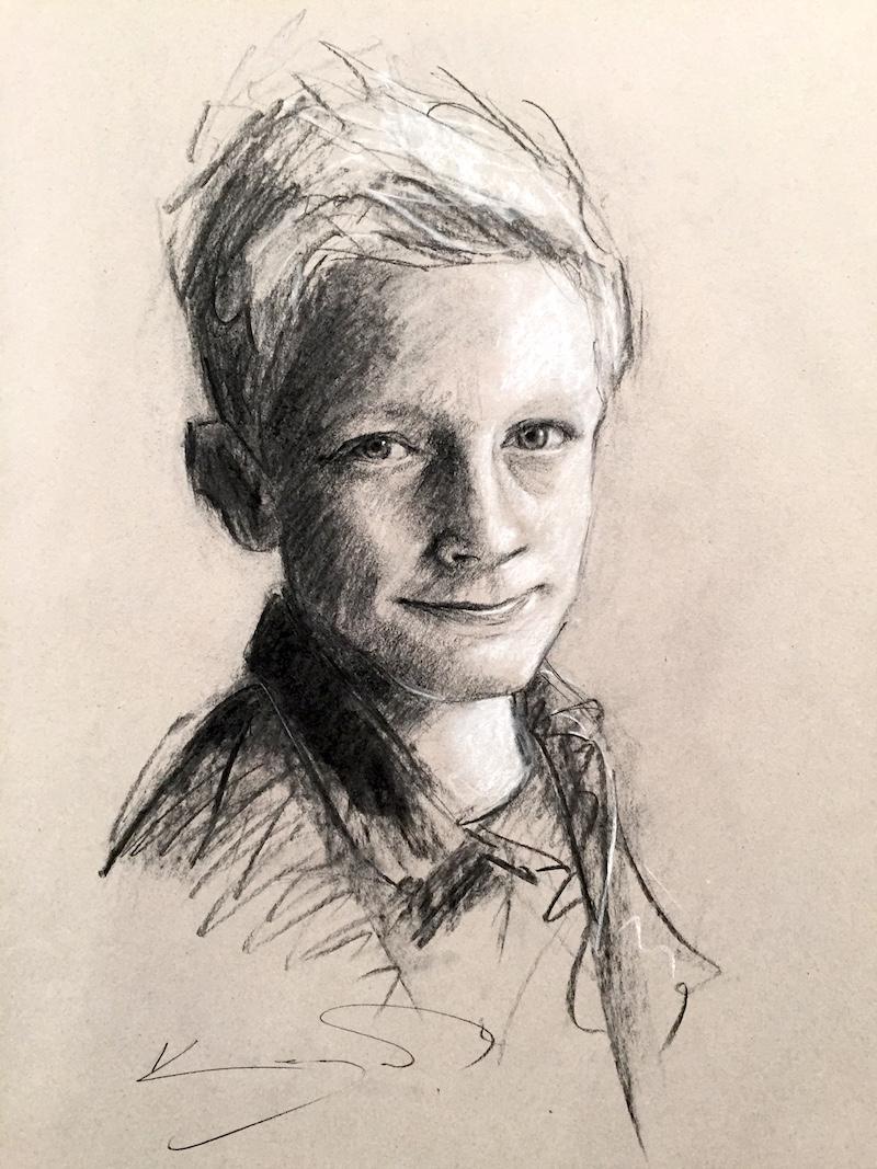 800x1067 Charcoal Portraits Arttutor