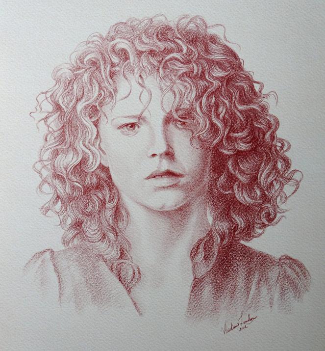 663x715 Portraits In Pencil
