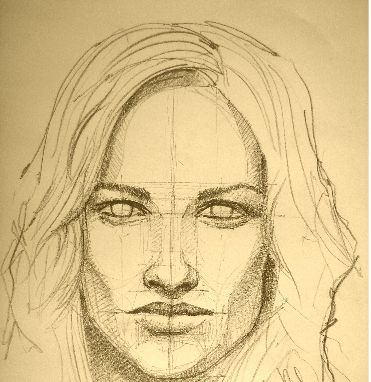 1208x1245 The Technique Of Portrait Pencil Drawing For Beginners