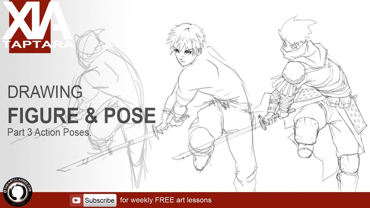 1280x720 Drawing Figure And Pose Part 3 Action Poses