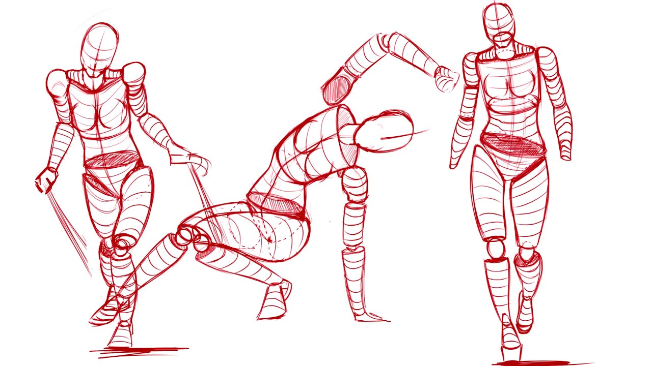 1280x720 How To Draw Poses Easily