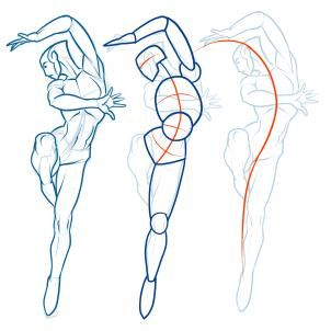 302x302 How To Draw Action Poses Step 6 Drawing ~
