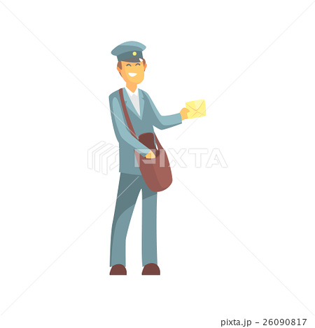 450x468 Illustration Postman Drawing Graphic Delivery Illustrations
