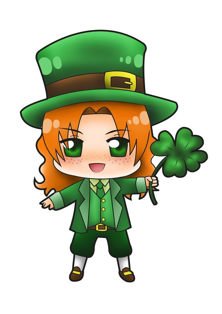 736x1041 Image Result For Vintage Leprechaun And Pot Of Gold Drawing Black