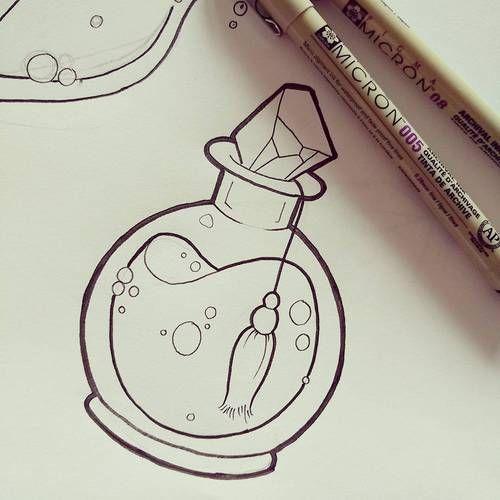 500x500 Image Result For Potion Bottles Drawing Art Bottle