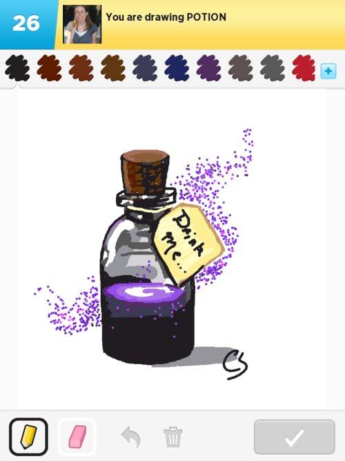 500x667 Potion Drawings