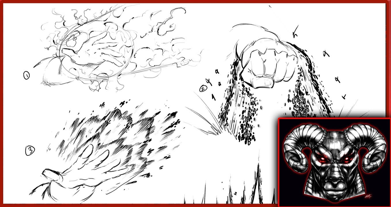 1358x720 How To Draw Comic Book Powers