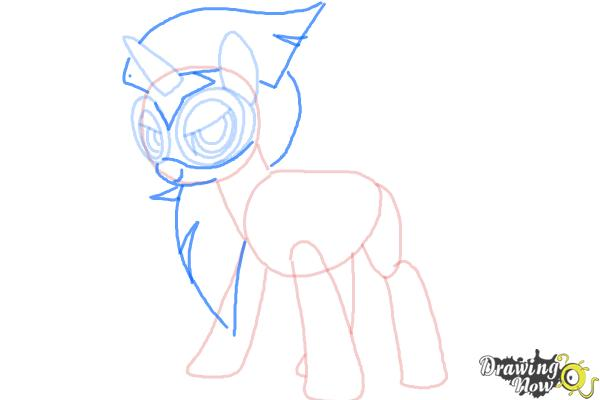 600x400 How To Draw Twilight Sparkle, Masked Matter Horn From Power Ponies