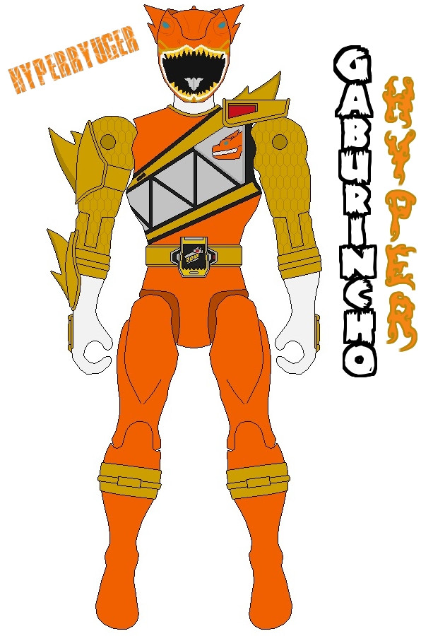 596x900 Action Hero Hyperryuger(Dino Charge Hyper Ranger) By Axusho