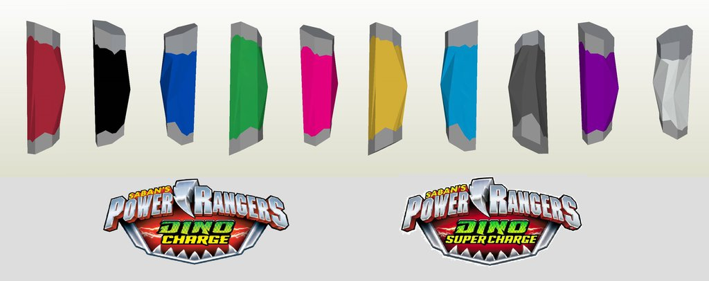 1024x406 Energemmes Power Rangers Dino Charge Pepakura By Xordon04