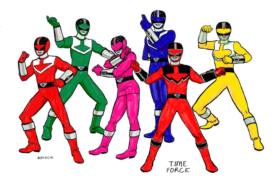895x600 Every Single Power Ranger Photo
