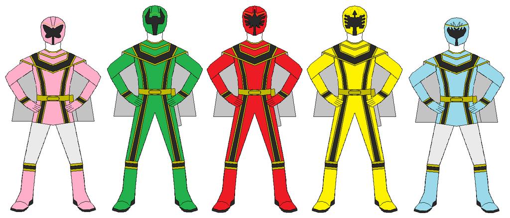1024x438 Power Rangers Mystic Force Team By Rangerforce510