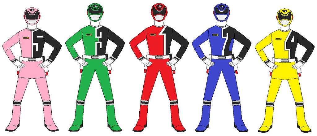 1024x439 Power Rangers Spd Team By Rangerforce510