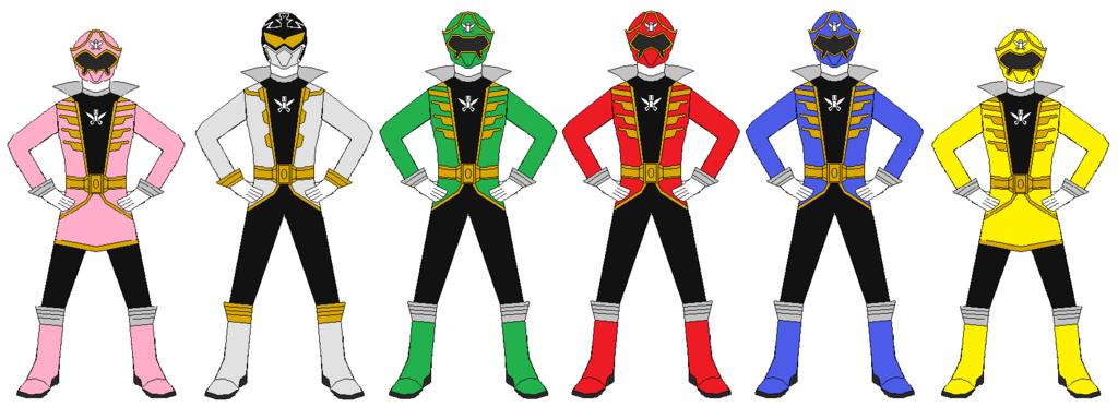 1024x373 Power Rangers Super Megaforce Team By Rangerforce510