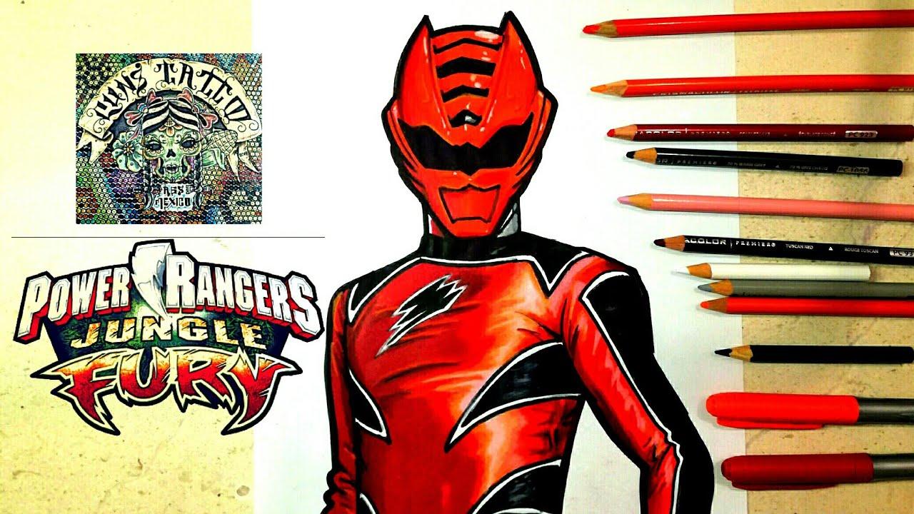 Power Rangers Jungle Fury Drawing At Getdrawings Free Download