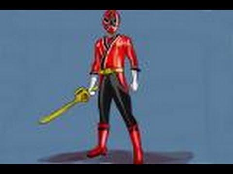 480x360 How To Draw Jayden, Red Ranger From Power Ranger Samurai