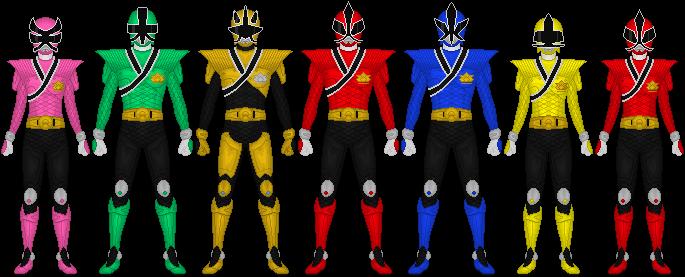 685x277 Power Rangers Samurai Mega Mode By Taiko554