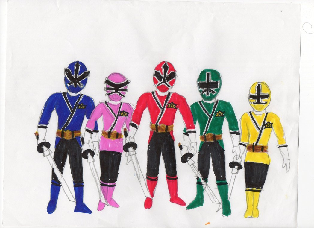 1049x762 Power Rangers Samurai By Hbgoo