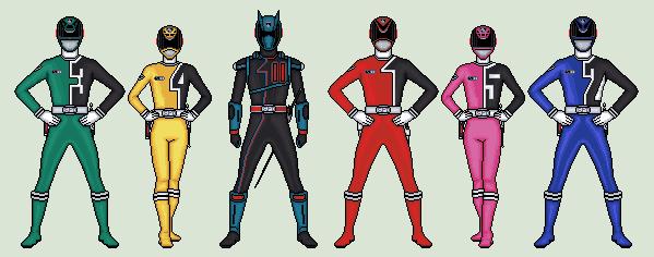 599x236 Power Rangers Spd By Vandersonmetal