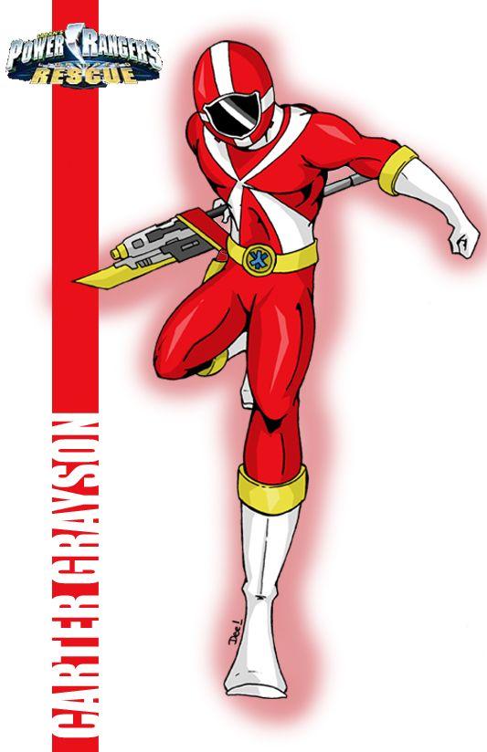 533x824 Red Lightspeed Power Ranger By ~deena Chan Power Ranger