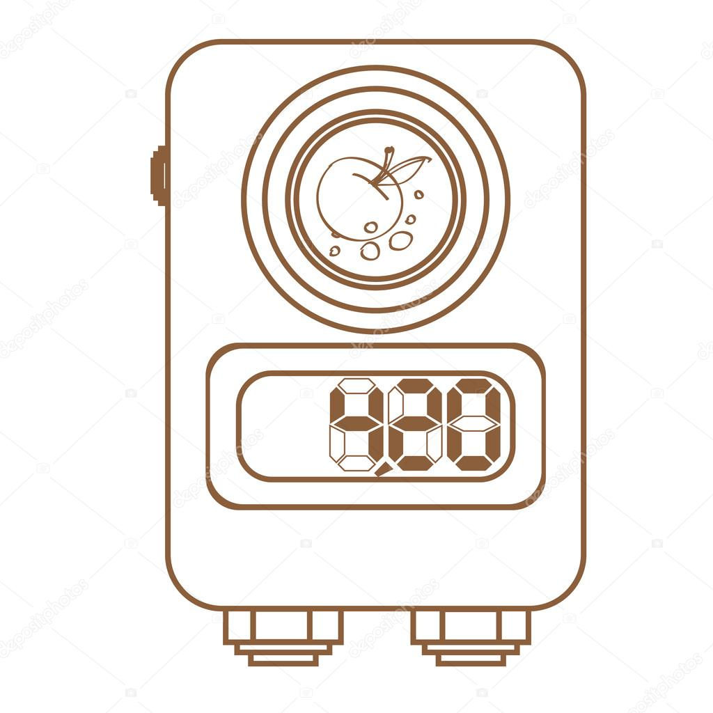 1024x1024 Power Supply Tattoo Machine Icon. Tattoo Accessory. Outline