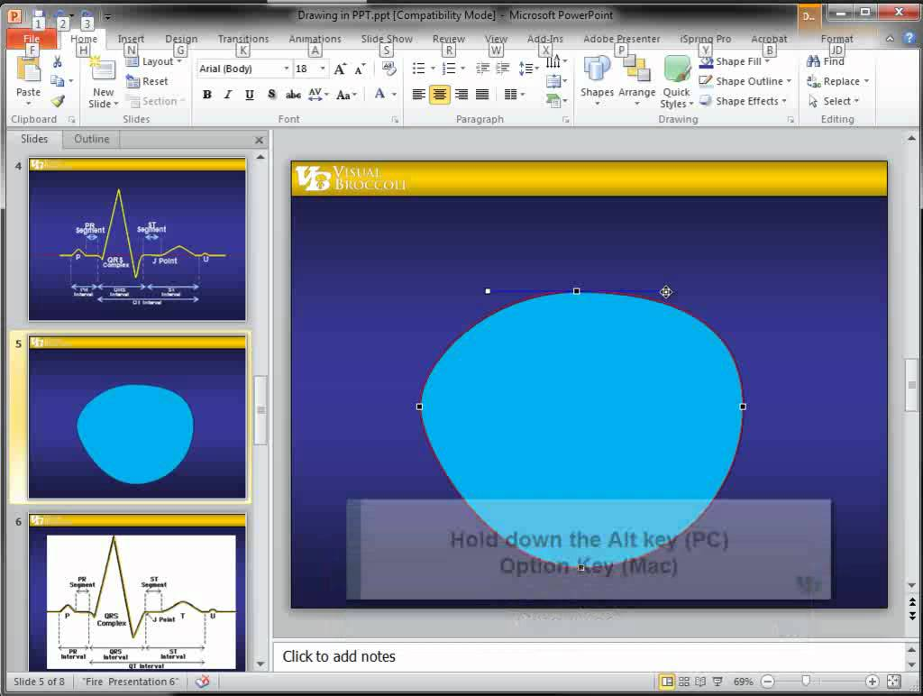 1024x772 Basic Drawing In Powerpoint