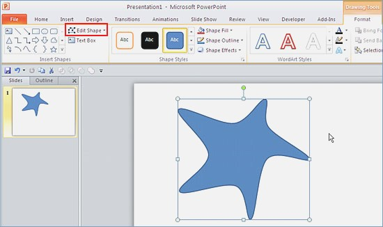 550x326 Powerpoint Drawing Tools