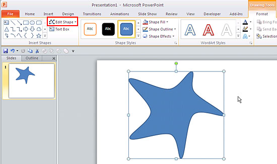 550x326 Edit Points For Shapes In Powerpoint 2010 For Windows