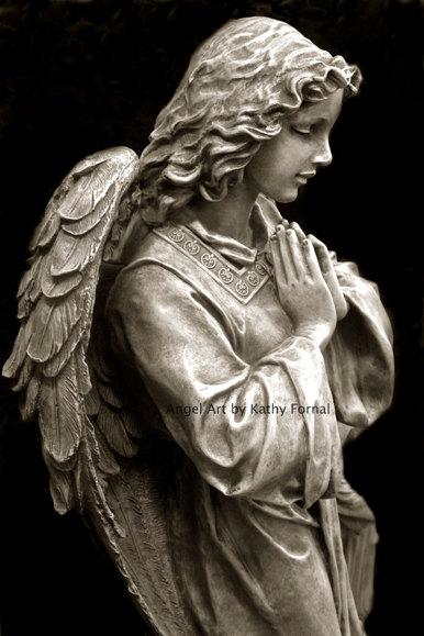 386x579 Angel Photography, Guardian Angel Praying, Angel Prints, Angel