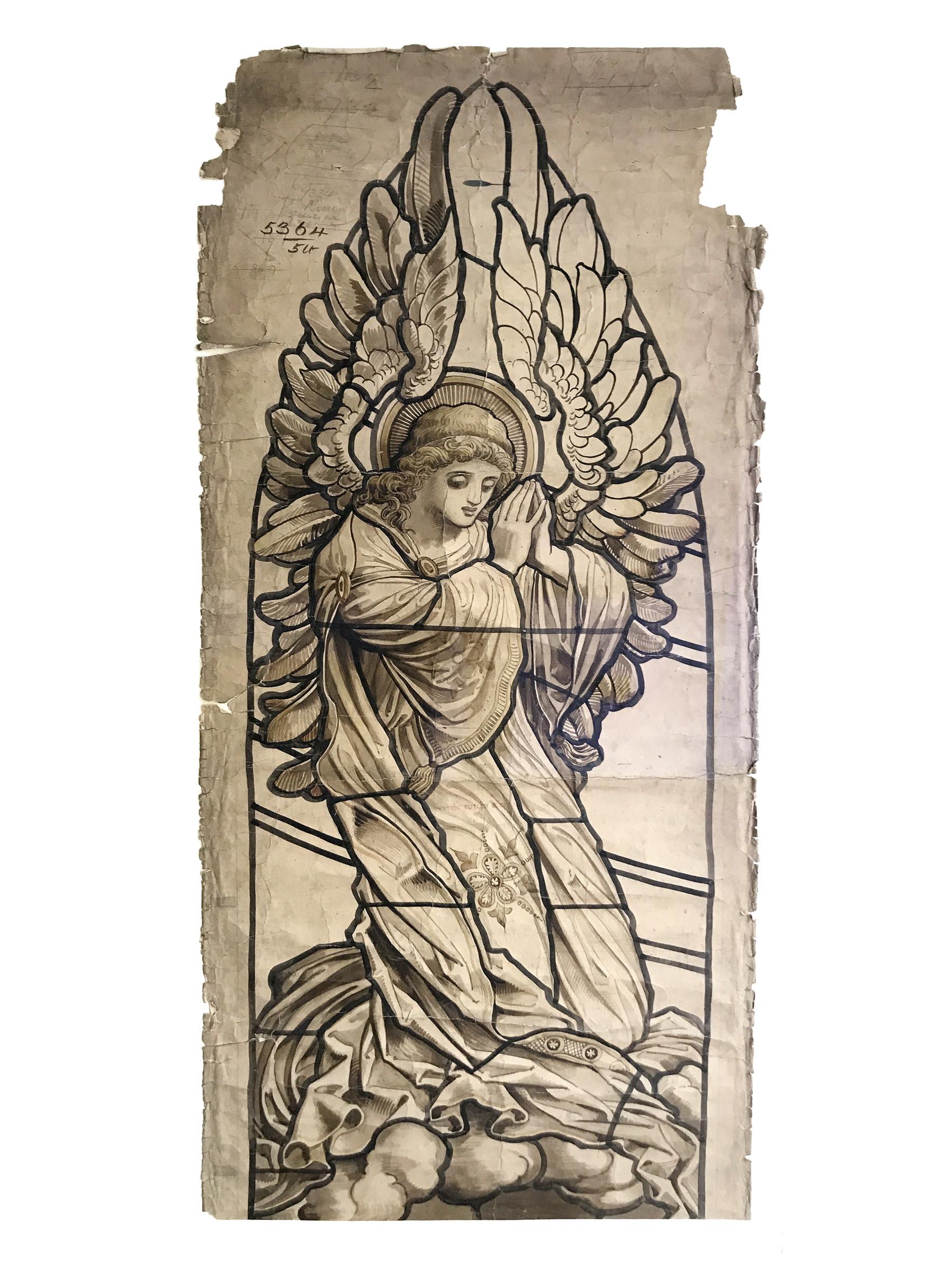 1800x2400 Heaton, Butler Amp Bayne, Praying Angel, C. 1880 1910 Aidan Meller