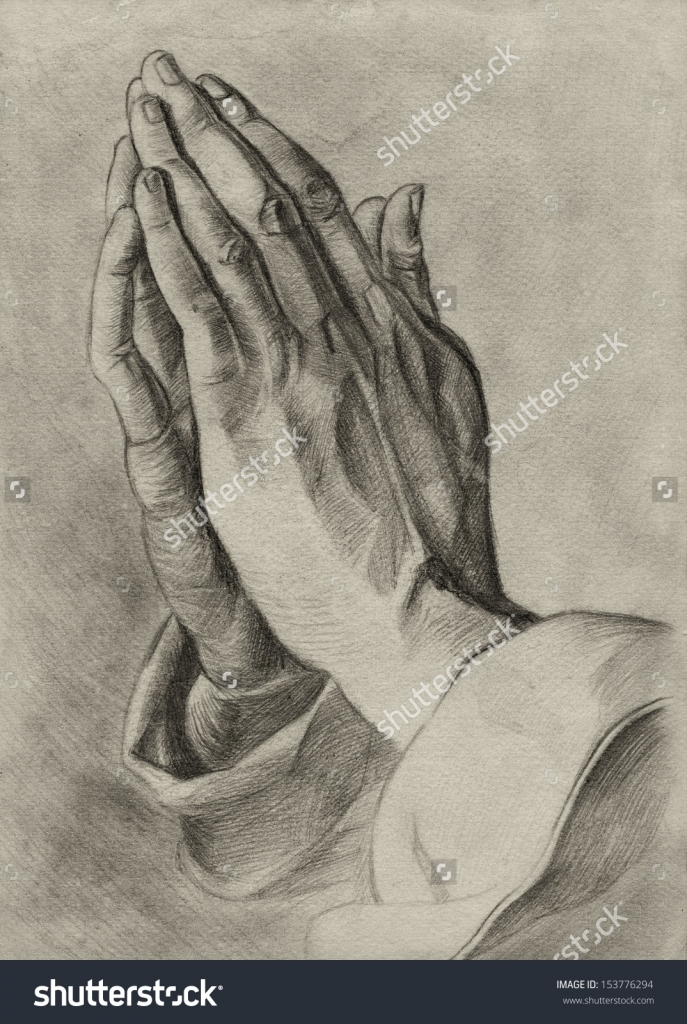 687x1024 Pencil Drawings Of Praying Hands