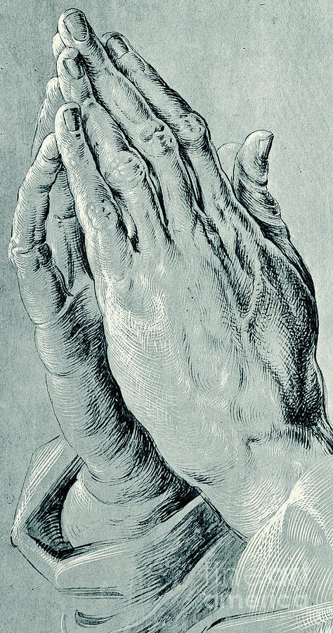 474x900 Praying Hands, Also Known As Study Of The Hands Of An Apostle