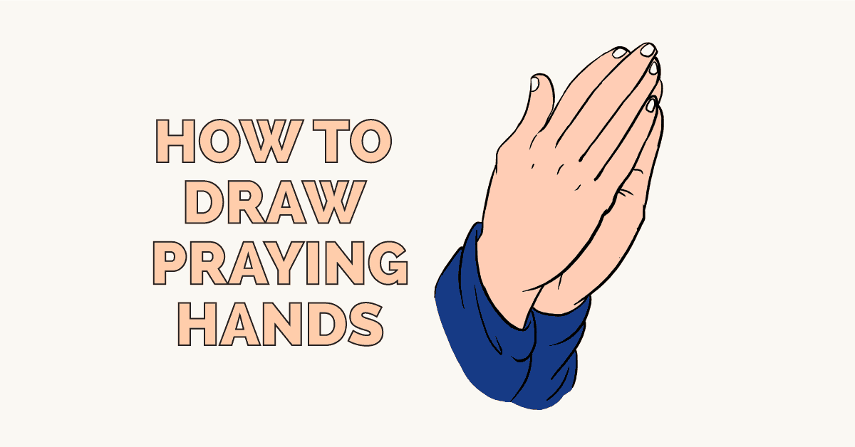 1200x628 How To Draw Praying Hands