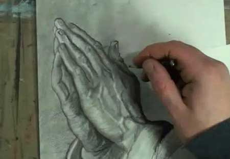 450x312 How To Draw Praying Hands Step By Step