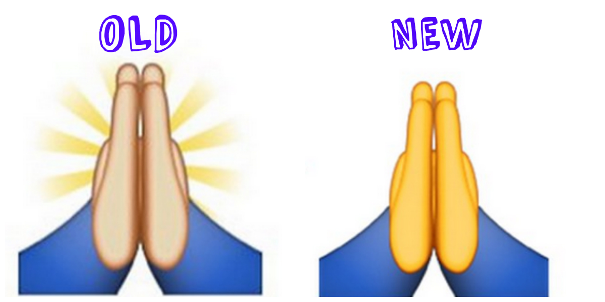 1200x600 The Prayer Hands Emoji Changed In Apple's 2015 Ios Update