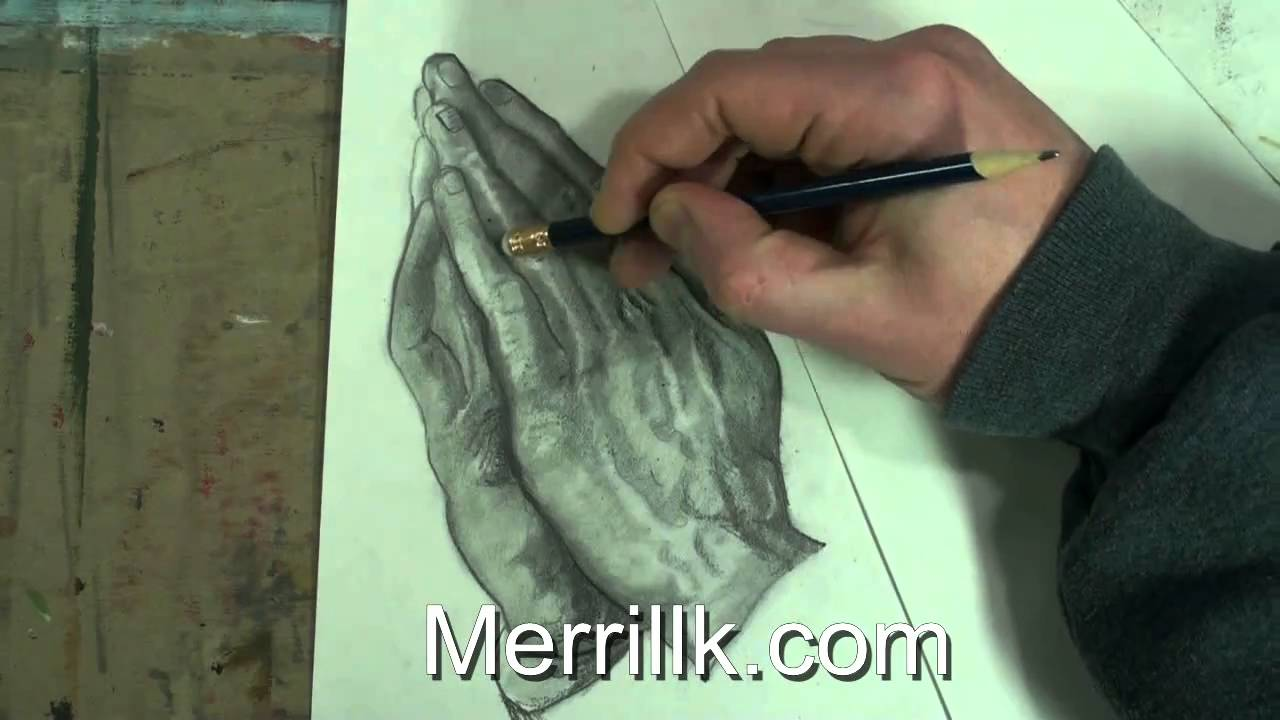1280x720 Extended Shading Tutorial How To Draw Praying Hands