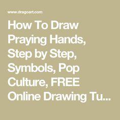 236x236 How To Draw Praying Hands Tattoo, Step By Step, By Darkonator