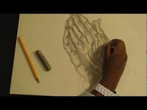 480x360 How To Draw The Praying Hands (Albrecht Durer)