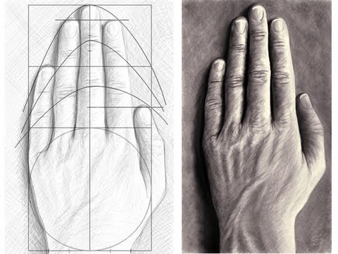 480x360 Tutorial How To Draw Hands
