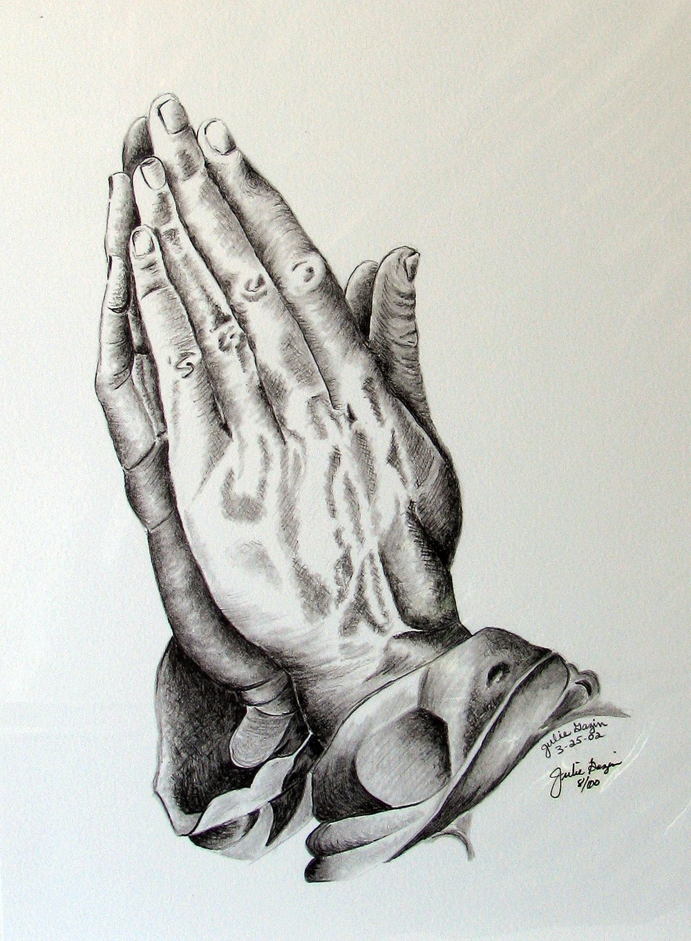 1000x1362 Praying Hands With Rosary Drawing Pix For gt Jesus Praying Hands