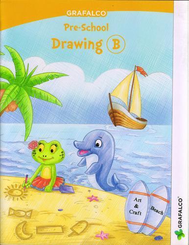 386x500 Grafalco Pre School Drawing B Book, Pre School Books