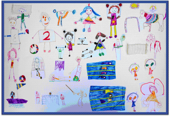 550x374 Pan Hellenic Drawing Competition For Preschool Children