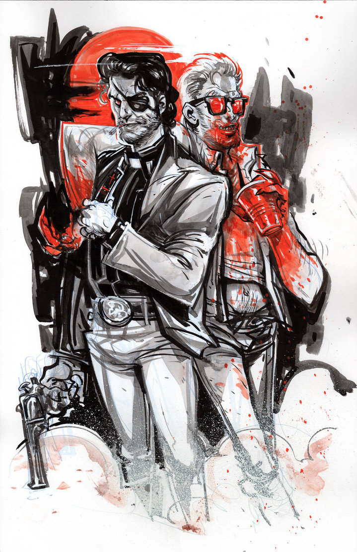 719x1112 Jesse And Cassidy From Preacher By Chrisvisions