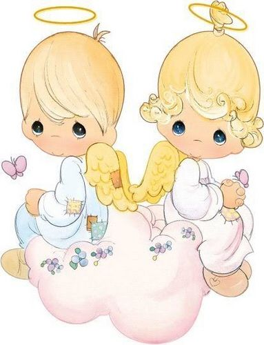 383x500 Precious Moments Angels On A Cloud Precious Moments Pictures