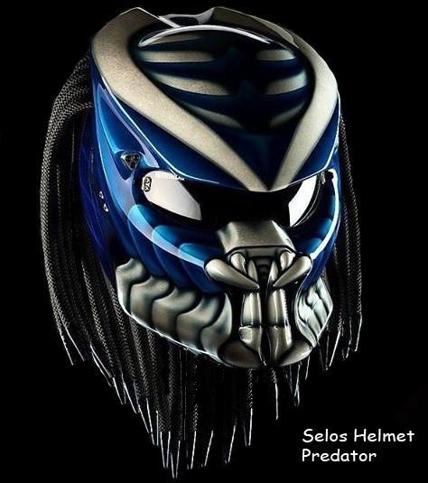 474x535 Predator Helmet Custom Style Panjihelmet On Artfire