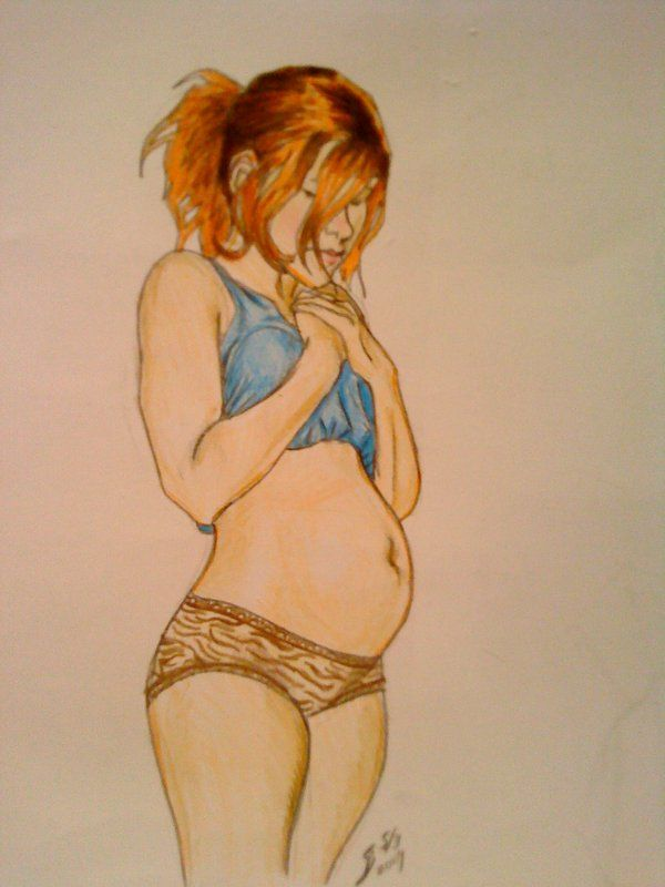 600x800 16 Best Pregnant Art Images On Drawings, Maternity