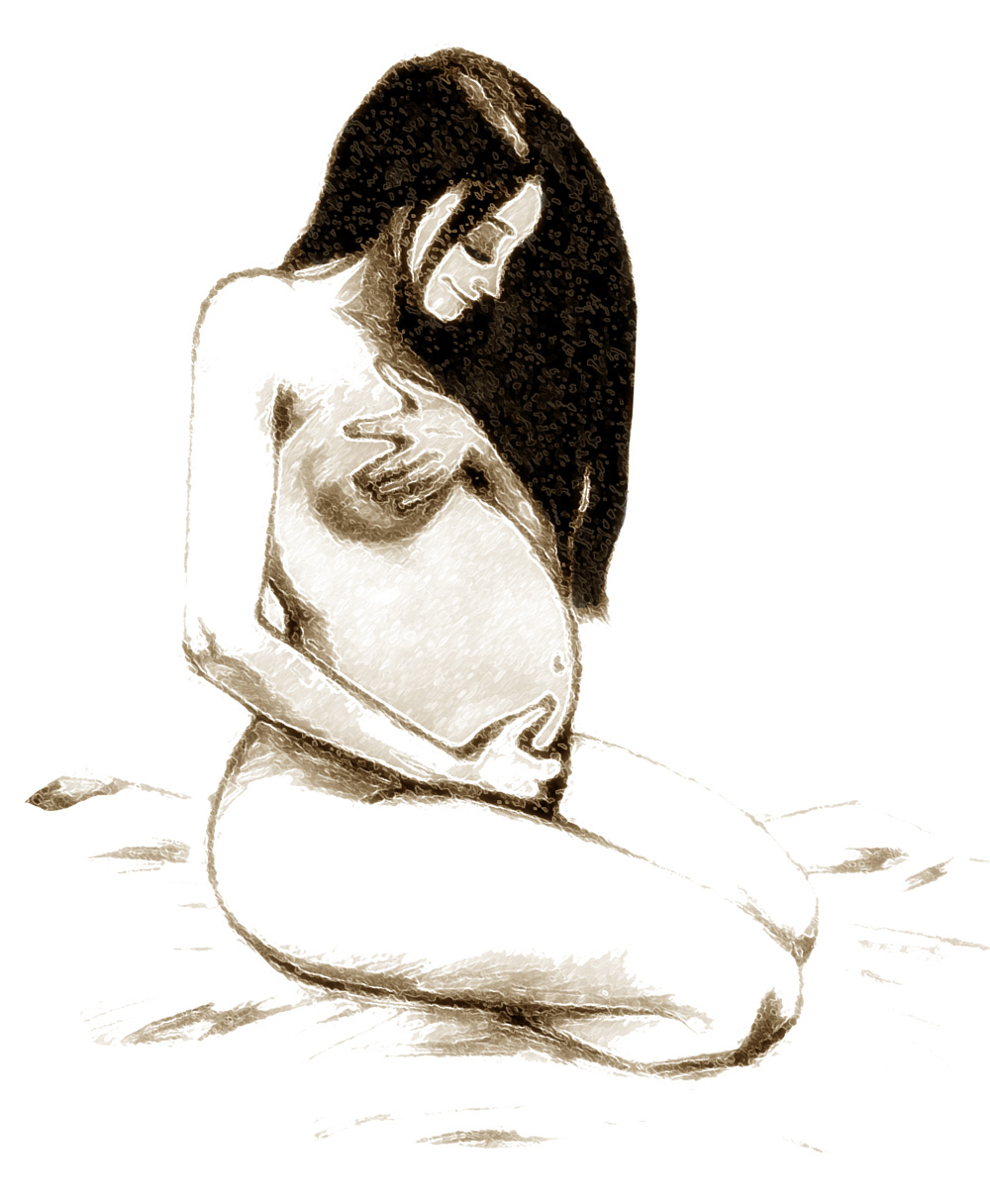 1000x1216 Pregnant Lady Art Therapy Pregnant Lady, Drawings