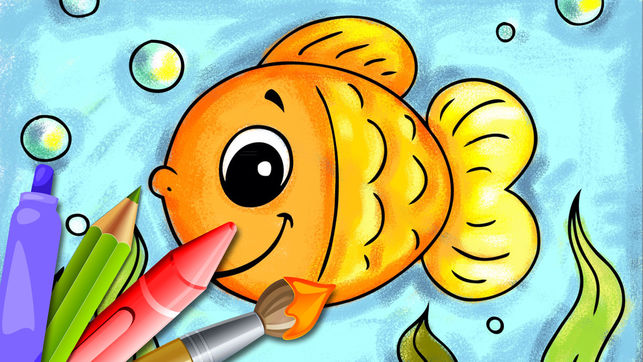 643x362 Animals Coloring Book For Kids